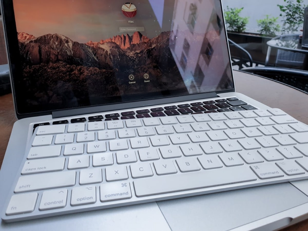 macのpc画面