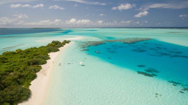 カリブの海
