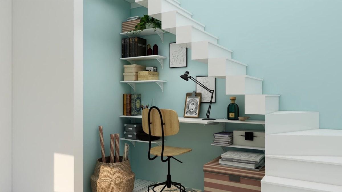 リビング階段の部屋